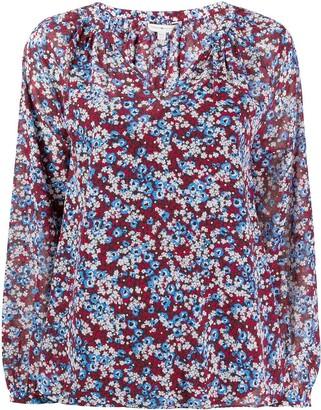 Tommy Hilfiger Floral Print Loose-Fit Blouse