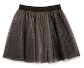 Aqua Girls' Layered Metallic Tulle Skirt, Big Kid - 100% Exclusive
