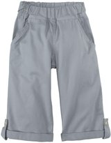 Charlie Rocket Long Twill Shorts (Toddler/Kid) - Granite-2T