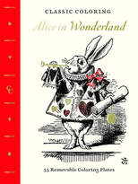 Abrams Books Classic Coloring: Alice in Wonderland (Adult Coloring Book)