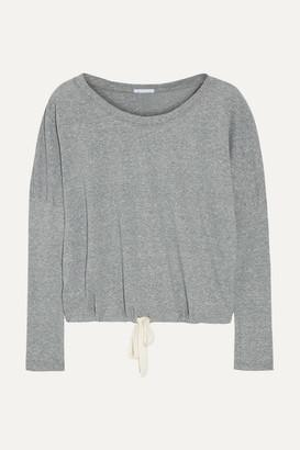 Eberjey Heather Jersey Pajama Top - Gray