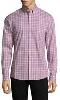 Michael Kors Micro Check Button-Down