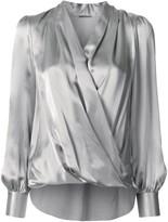 Elie Tahari Cassia wrap blouse