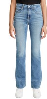 Thumbnail for your product : Jen7 by 7 For All Mankind High Hem Slim Bootcut Jeans