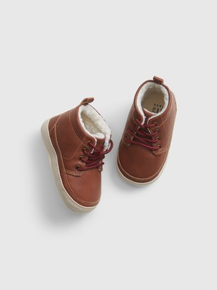 Gap Baby Faux Leather Boots