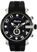 Mulco Unisex MW3-12239-025 Ilusion Roll Analog Display Swiss Quartz Black Watch