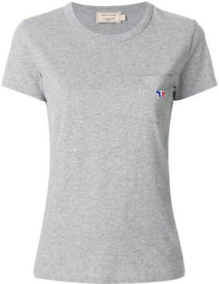 MAISON KITSUNÉ logo chest pocket T-shirt