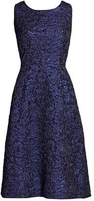 Comme des Garcons Sleeveless Jacquard Dress