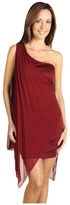 Type Z Kristina Pleated Dress (Wine) - Apparel