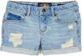 Lucky Brand Rip & Repair Riley Shorts - Girls