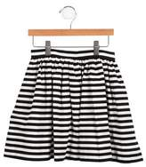 Kate Spade Girls' Striped Mini Skirt
