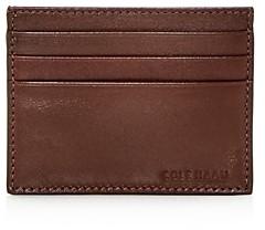 Cole Haan Hamilton Grand Leather Card Case