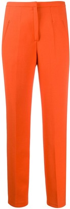 Courreges high rise straight leg trousers