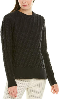 Derek Lam 10 Crosby Cable-Knit Sweater