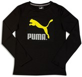 Puma Boys' Core Logo Tee - Sizes 4-7