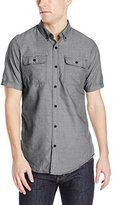 Burnside Men's Patheon Short Sleeve Woven Shirt