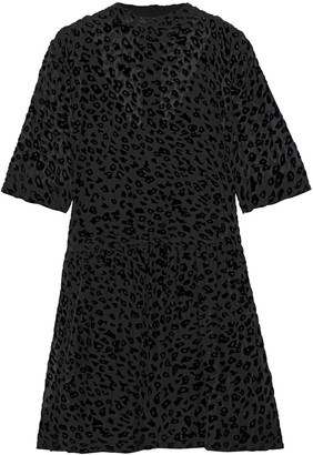 Rag & Bone Devore Silk-blend Chiffon Mini Dress
