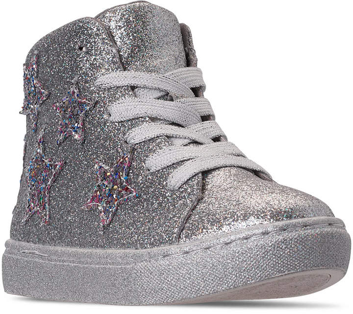 30070c3fdde Little Girls Jaustinn High Top Fashion Casual Sneakers from Finish Line