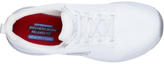 Skechers Squad SRSafety Slip Resistant Trainers - White