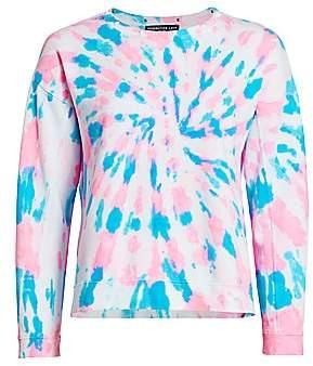 Generation Love Women's Carter Star Studded Tie-Dye Sweatshirt