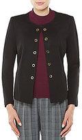 Allison Daley Grommet Embellished Open Front Jacket