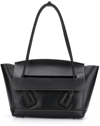 Bottega Veneta Trapeze Shaped Shoulder Bag