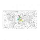 Omy Atlas Giant Colouring-in Poster