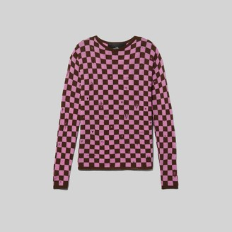 Marc Jacobs The Men's Checkered Sweater