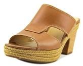 Naturalizer Evette N/s Open Toe Leather Platform Sandal.