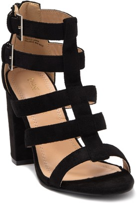 Chase & Chloe Royce Chunky Heel Sandal