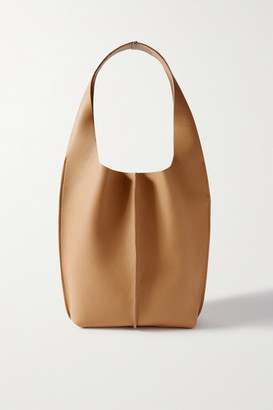 Acne Studios Textured-leather Tote - Sand