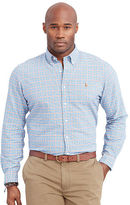 Big & Tall Polo Ralph Lauren Plaid Oxford Sport Shirt