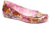 Pandora Pink & Orange Floral Ballet Flat
