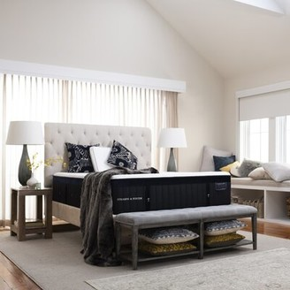 "Stearns & Foster Lux Estate 16"" Ultra Plush Hybrid Mattress Mattress Size: Full"