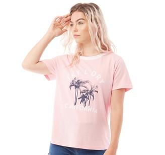 Tokyo Laundry Womens Deia T-Shirt Rose Shadow