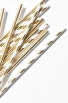 Dynamite Gold Paper Straws