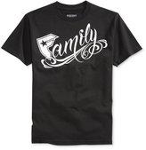 Famous Stars & Straps Men's Big Family Graphic-Print Logo T-Shirt