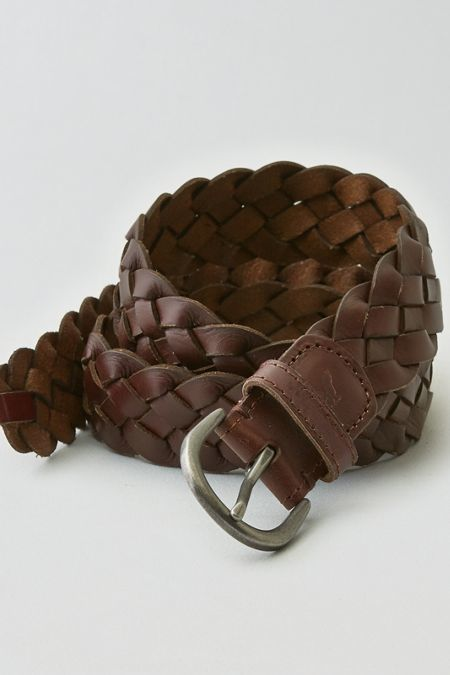 American Eagle Outfitters Brown Braided Belt, Womens XS/S