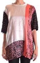 Laneus Women's Multicolor Cotton T-shirt.