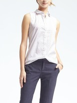 Banana Republic Riley-Fit Dot Shirt