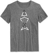 Armani Exchange Men's Vertical Graphic-Print Logo T-Shirt