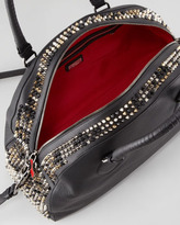 Christian Louboutin Panettone Large Dome Satchel Bag, Black