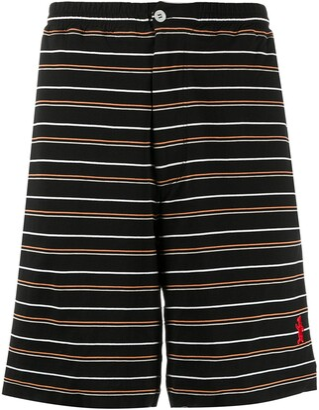 Marni Striped Cotton Bermuda Shorts