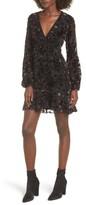 WAYF Women's Brayden Embroidered Minidress