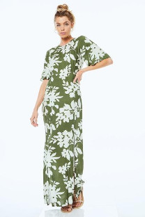 Monte - The Fiona Dress In Willow - XS