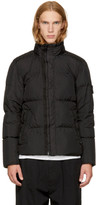 Stone Island Black Down Puffy Jacket