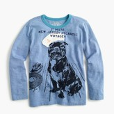 J.Crew Boys' long-sleeve sailor pup T-shirt