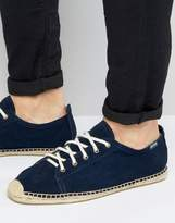 Soludos Suede Lace Up Espadrilles