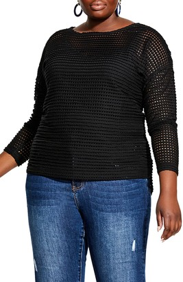 City Chic Soft Touch Sweater