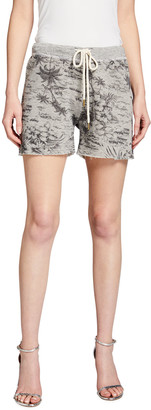 The Great The Sweat Printed Shorts